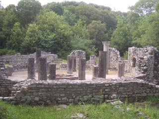 Ruins of classical Butrint building
